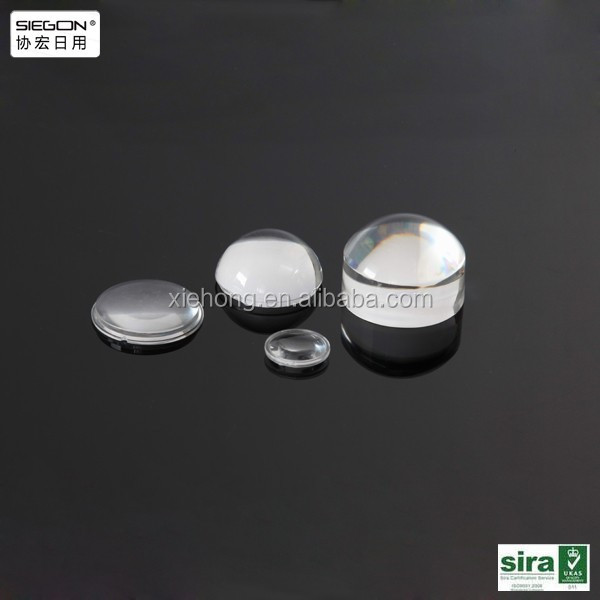 High quality clear acrylic mobile phone lens, mobile camera extra lens