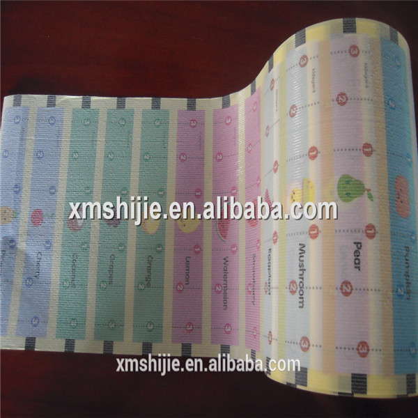 Suede type frontal tape for baby diapers as raw material