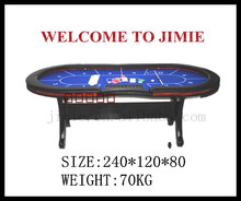 promotional casino poker table dimension