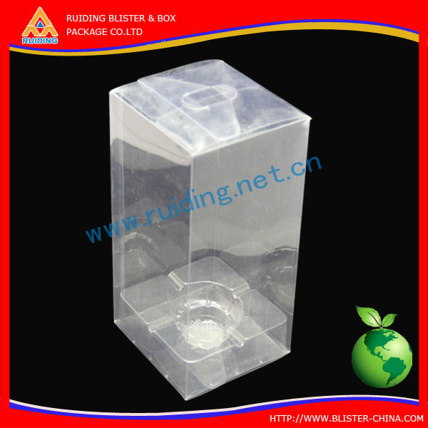 supplies clear pvc box packing with tailor-made for candle