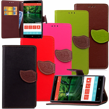 High Quality Leather Flip Wallet Case Phone Back Cover Stand Card Slots Holder for Nokia Lumia 730/ N630/N830