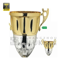 wholesale parts of metal trophy cup large trophy components