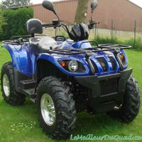 EEC approval double seat water cooling automatic atv 500cc 4x4