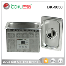 2016 timed promotion BAKU BK-3050 LCD mini digital Display Electronic Industry ultrasonic Cleaner