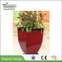 Hot sell garden planter angled wall flower pots