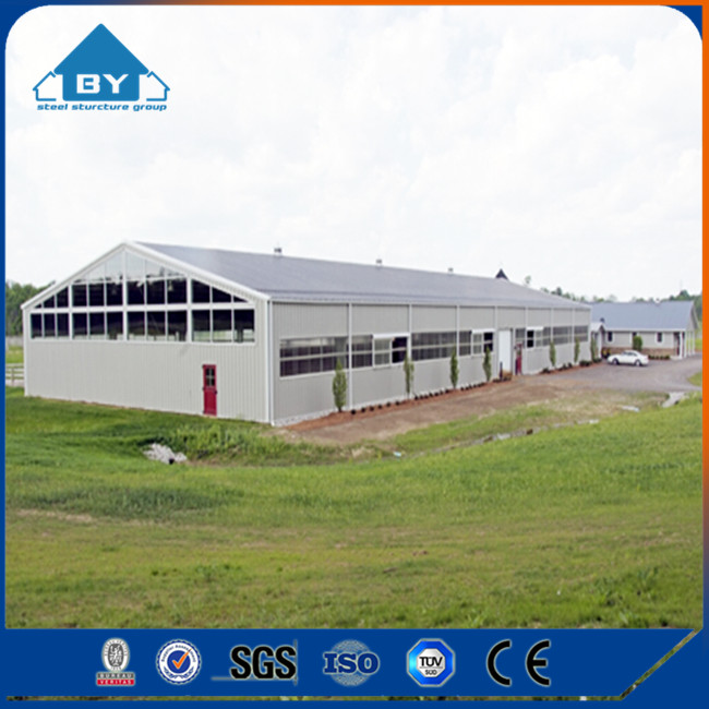 BY F030 Low Cost Steel Sheds for Poultry Farm