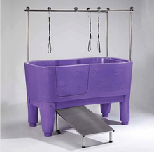 Electric-lifting aryclic pet bathtub for dogs