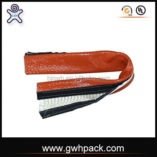 GWH Fire protect pipe insulation silicone coated fire sleeve with VCO