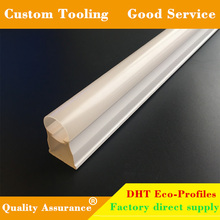 T8 extrusion pc diffuser cover for led tube light components