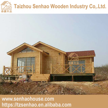 High quality Well-designed Prefab log cabins wood house