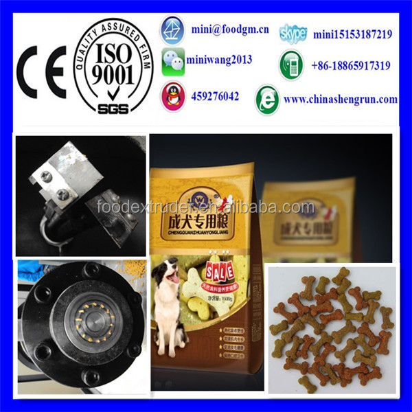 Adult/puppy dog pet food making machines