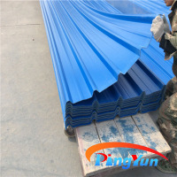 pvc corrugated plastic roofing sheets/lightweight roofing materials/plastic roofing panels for house
