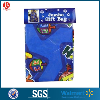 Christmas huge gift bags with own logo and design