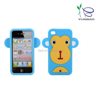 big face monkey silicone phone cases for huawei