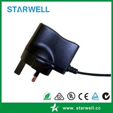4.2V 1A 5W Li-ion Battery Charger wall plug in type with lead indicator US UK AU EU available