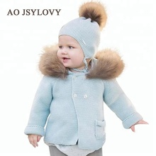 Autumn Baby Girl Clothing Cardigan Knitted Sweater Coats