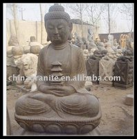 antique stone buddha statues