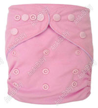 AnAnBaby Reusable Diapers With Inserts Color Snaps Diapers