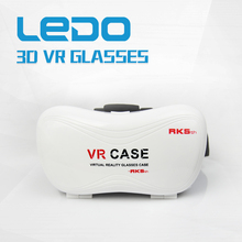 Virtual reality 3D glasses vr case, 2nd generation headset VR box 2.0 google cardboard