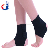 Black Nylon latex ankle Protection China colored elastic orthopedic knitted ankle support&ankle guard&ankle protector