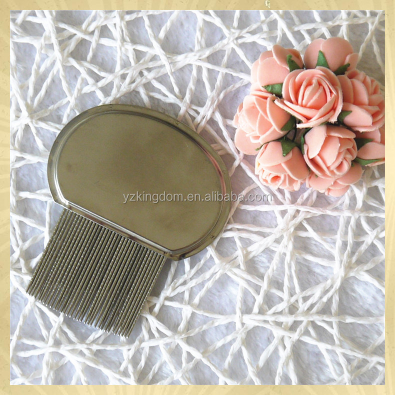 Personality combs all stainless steel lice comb