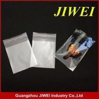 cheap clear self adhesive seal plastic bag for cd/gift