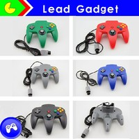 Wholesale wired classic joystick gamepad controller for Nintendo 64
