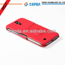 Red Color Stand Mobile Phone Leather Case Cover For Samsung Galaxy Mega 6.3 I9200