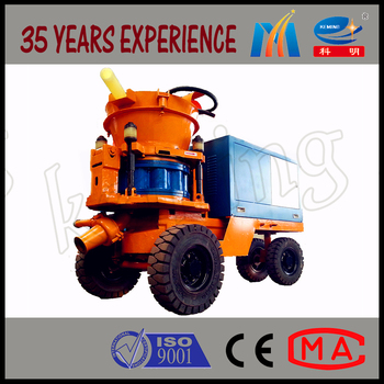 Wet Concrete Shotcrete Machine For Sale