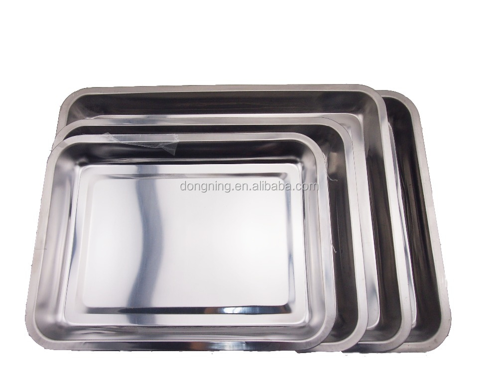 Stainless steel fruit and food tray