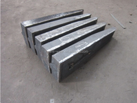 High Abrasion Cr-Mo Alloy Steel Castings Caps Wear Resistance
