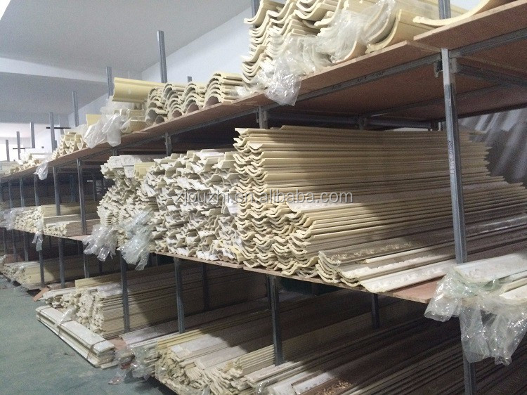 PU Carved cornice ceiling moulding