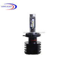 Car accessory A8 car LED headlight 9012 light with Nano Cooling Coating H1 H3 H4 H7 H8 9004 9005