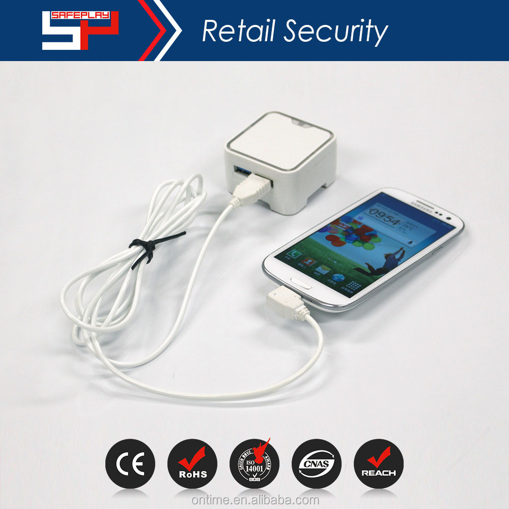 ONTIME SP4002- 2015 mobile phone Micro Cable mini Security Display device