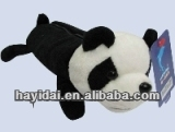 Plush panda pencil case for claw machine