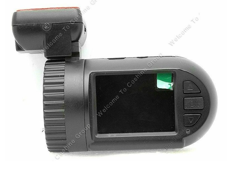 Ambarella A2S60 Chip, Omnivision OV2710 Sensor Mini 0801 HD 1080P GPS Support in Car Dash Cam
