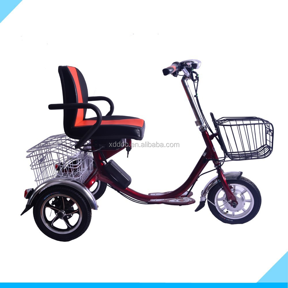 Chinese manufacturer selling 12 inch 48 V High Quality Electric tricycle for sale