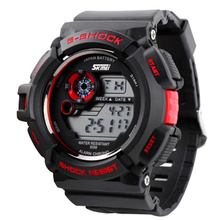 2016 Best quality cheap LED 30M waterproof skmei s-shock watch