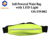 waist bag with Batteryless self-powered safety LED light for outdoor sports
