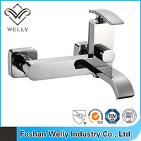 New Wall Mounted Watermark Basin Mixer Faucet Bathroom Sink Mixer Taps