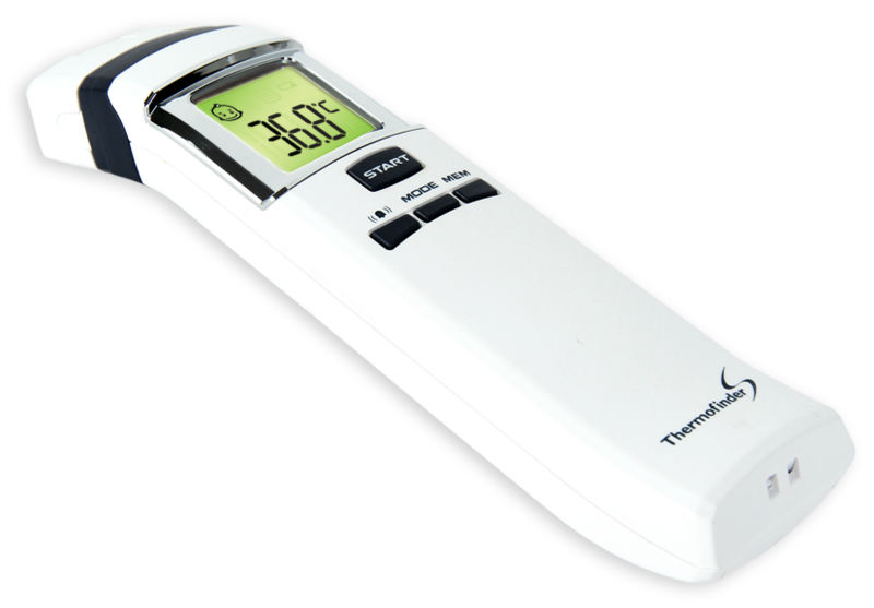 Non contact infrared thermometer