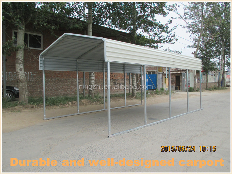 Sheet metal carport for sale buy used metal carports for One car garage kits sale
