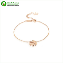 Best gift idea !!! stainless steel bracelet with snap charms button for women