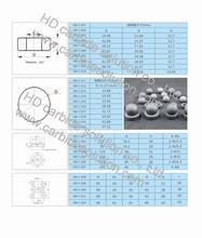 Tungsten Carbide Balls for Oil Pumps Valves