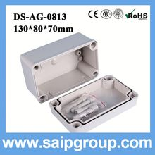 abs plastic waterproof case fuse plastic box DS-AG-0813