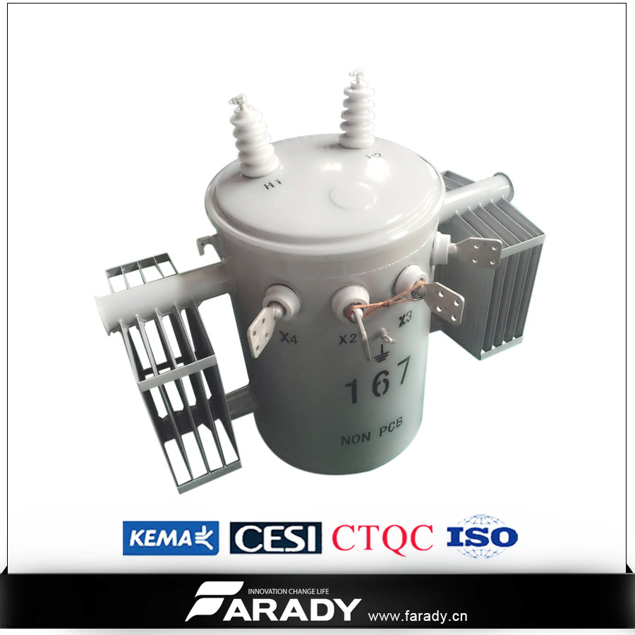50 kva complete self protection pole mounted overhead csp transformer