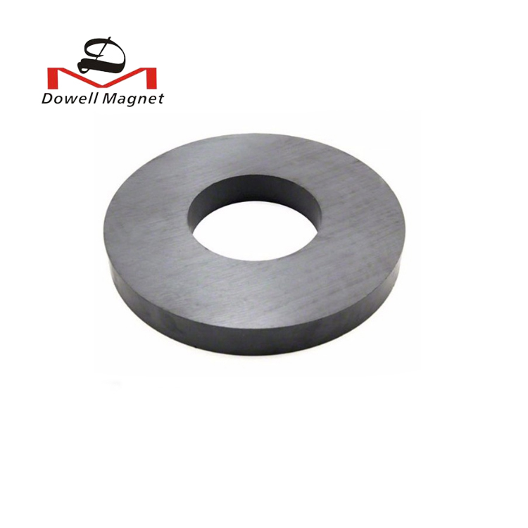 Low Price High Resistant Customized Speaker Ferrite Ceramic Ring <strong>Magnet</strong>