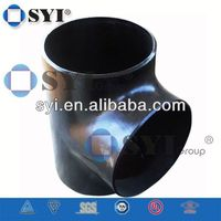 Bw Cs Ss Reducing Straight Std Tee Pipe Fittings of SYI Group