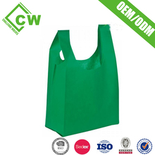 Wholesale Cheapest Price non woven vest shopping bags factory