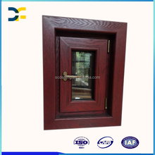 Italy Price Swing Open Wood Composite Aluminum Window